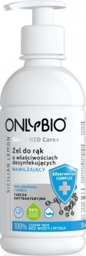 Only Bio Silver Med Care+Żel dezynfekujący i nawilżający do rąk 250 ml 1