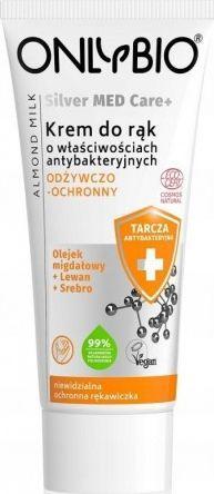 Only Bio Silver Med Care+ odżywczo-ochronny Krem do rąk 50 ml 1