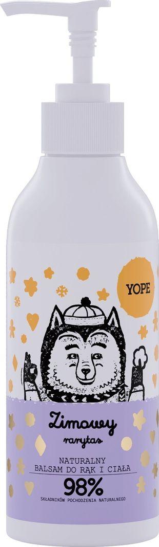 Yope Naturalny balsam do rąk i ciała Zimowy Rarytas  1