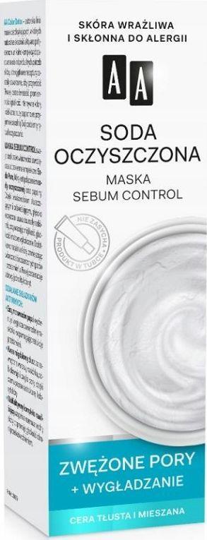 AA Color Detox maska regulujaca soda oczyszczona 1
