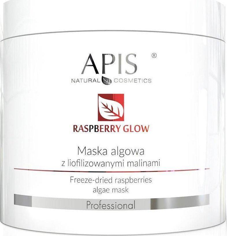 APIS Raspberry Glow maska algowa z liofilizowanymi malinami  1