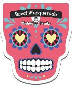 Mola Sweet masquarade maska Red & Pink Fruits  1