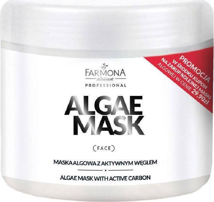 Farmona Acid Tech maska algowa z aktywnym węglem 500ml 1