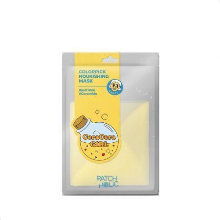 Patch Holic Colorpick żółta odżywcza maska 20ml 1