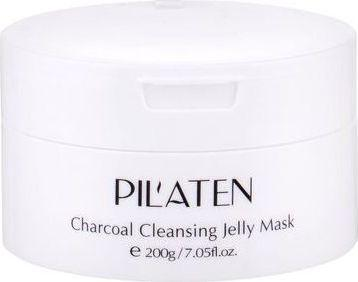 Pilaten Oczyszczająca maska z węglem drzewnym 200g 1