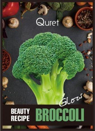Quret Beauty Recipe rozświetlająca maska Brokuł 1