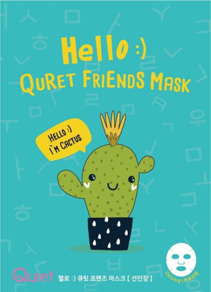 Quret Hello:) Friends maska Kaktus 1