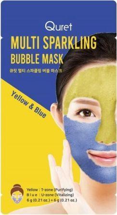 Quret Multi Sparkling maska bąbelkowa 2szt. 1