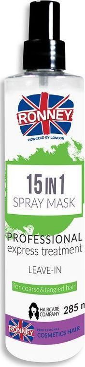Ronney Spray Do Włosów Szorstkich i Splątanych 15w1 285 ml 1