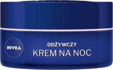 Nivea 24H Nawilżenia+Regeneracja odżywczy krem na noc cera sucha i wrażliwa Naturalny Olejek Migdałowy 50ml 1