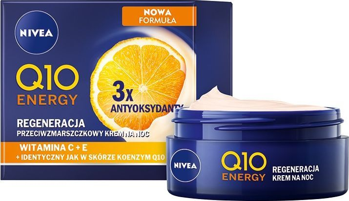 Nivea Q10 Energy przeciwzmarszczkowy krem na noc 50ml 1