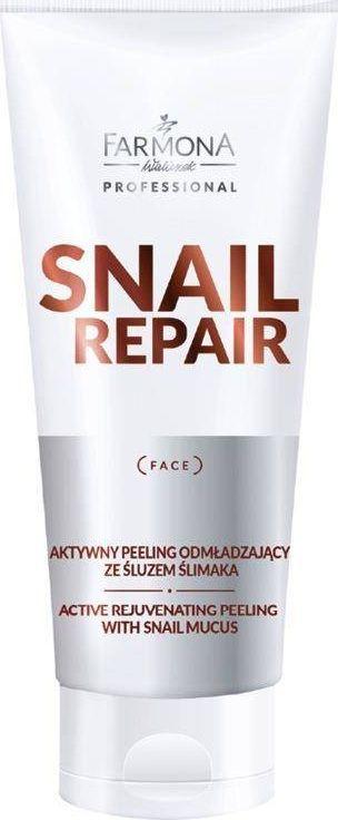Farmona FARMONA PROFESSIONAL_Snail Repair Active Rejuvenating Peeling With Snail Mucus aktywny peeling odmładzający ze śluzem ślimaka 200ml 1