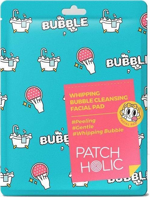 Patch Holic PATCH HOLIC_Oczyszczająco-peelingujący bąbelkowy płatek do twarzy 10ml 1