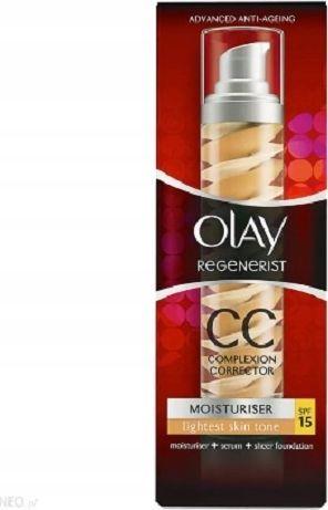 Olay Olay regenerist cc krem serum podkład light 50ml 1