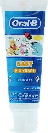 Oral-B Oral-b pasta do zębów oral b kids 0-2 lata 75 ml 1