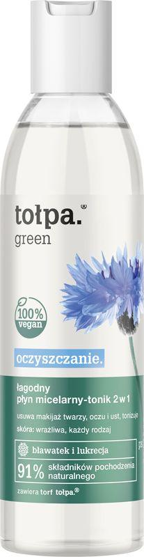 Tołpa Łagodny płyn micelarny - tonik 2w1 Oczyszczanie 200ml 1