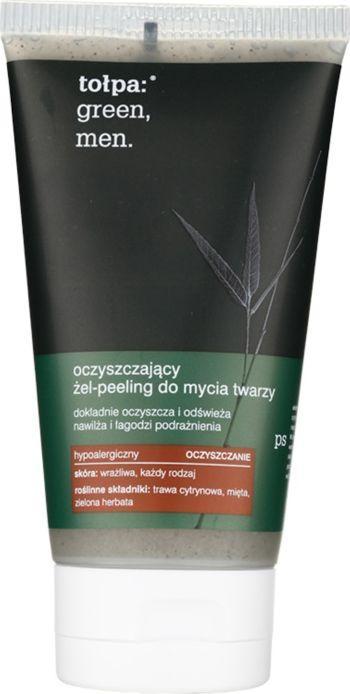 Tołpa Oczyszczający żel - peeling do mycia twarzy 150ml 1