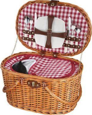 Cilio Kosz piknikowy Cilio Riva dla 2 osób 45 x 31 x 25 cm jasny brąz 1