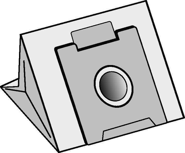Worek do odkurzacza Amica Papierowy AM-2 1
