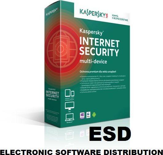 Kaspersky Lab Internet Security ESD 2 urządzenia 24 miesiące  1