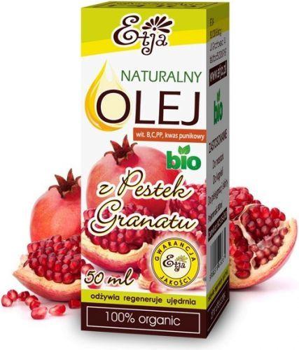 Etja Olej z Pestek Granatu BIO, 50ml 1