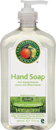 Earth Friendly Products Mydło w płynie, Trawa Cytrynowa, 500 ml 1