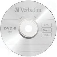 Verbatim DVD-R/1/koperta 4.7GB 16x (505) 1