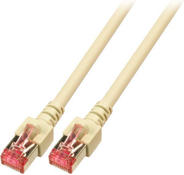 EFB Patchcord, Cat.6, S/FTP, PIMF, 1.5m, szary (K5510.1.5) 1
