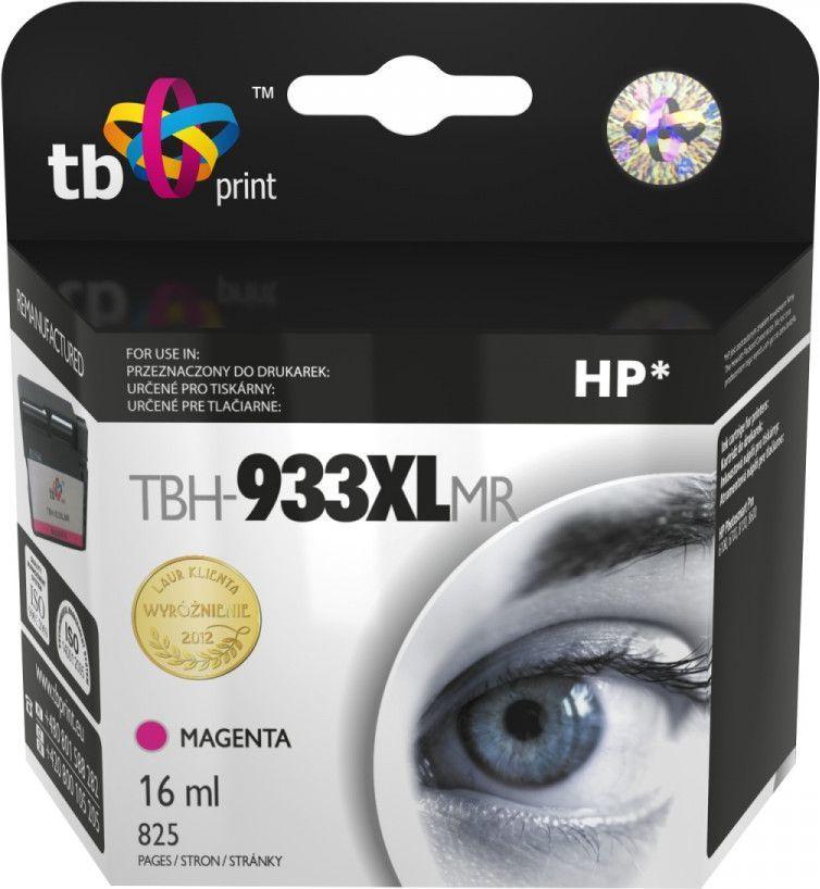 TB Tusz TBH-933XLMR (HP CN055AE) Magenta 1