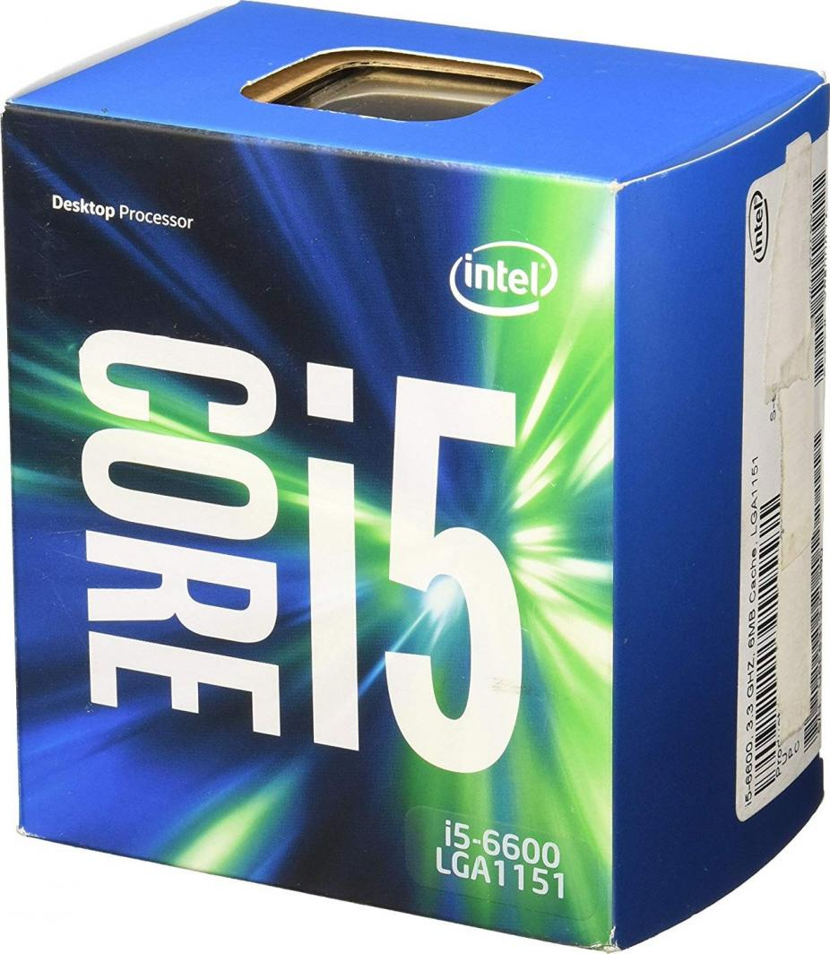 Procesor Intel Core i5-6600, 3.3GHz, 6 MB, BOX (BX80662I56600) 1