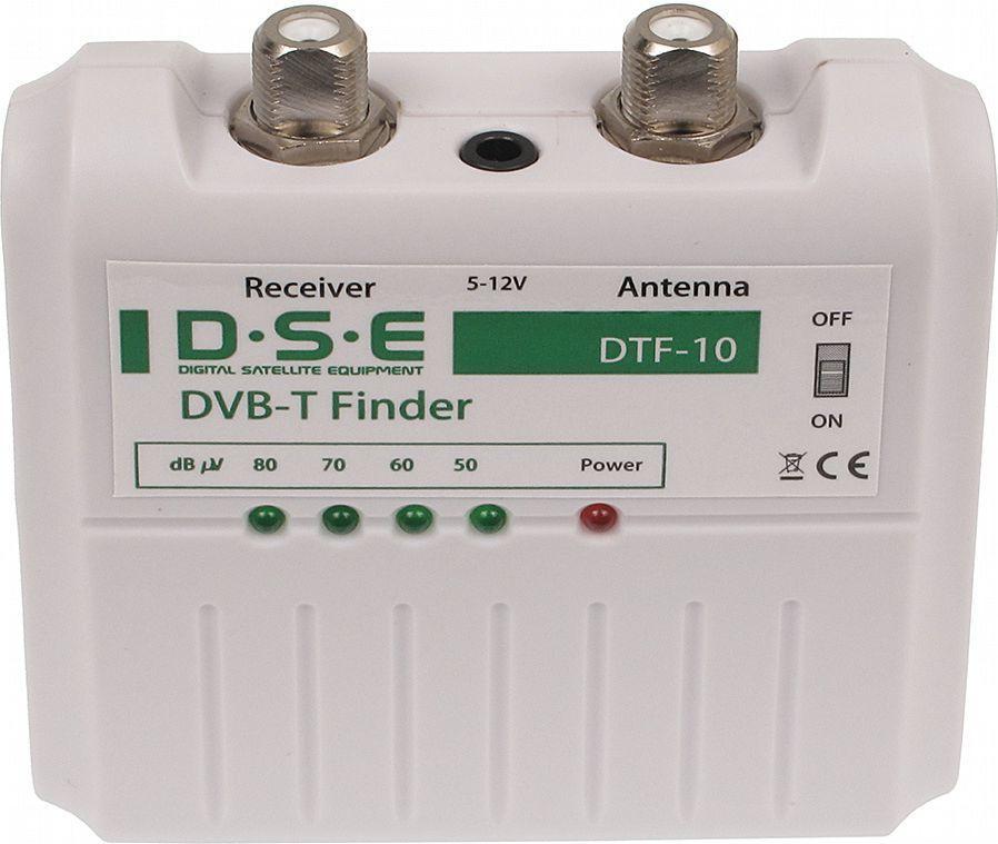 DSE DTF-10, Miernik sygnału DVB-T 1