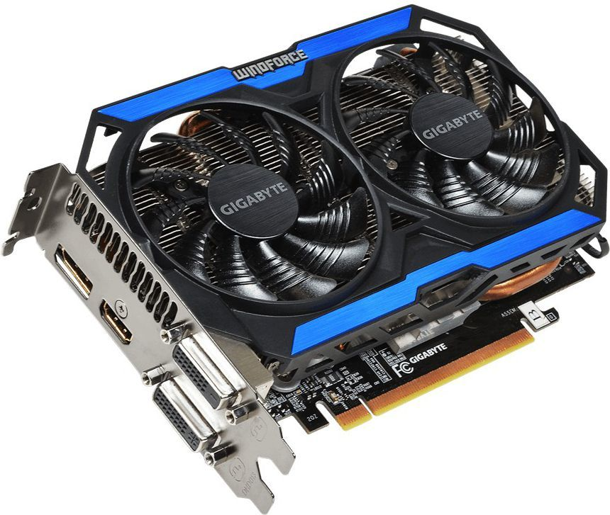 Karta graficzna Gigabyte GeForce GTX 960 2GB GDDR5 (128 bit) 2x DVI, HDMI, DP, Box (GV-N960OC-2GD) 1