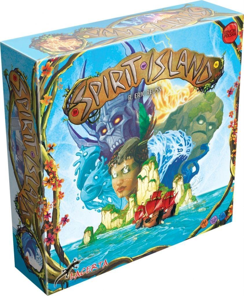Lacerta Gra Spirit Island (Edycja Polska) 1
