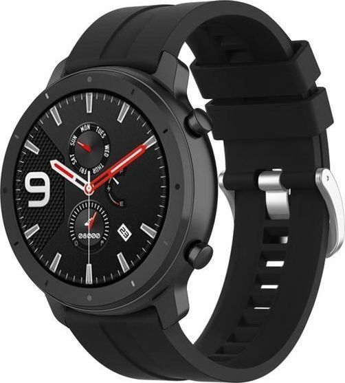 Alogy Pasek Soft Galaxy Watch Active 2 Czarny (20mm)  1