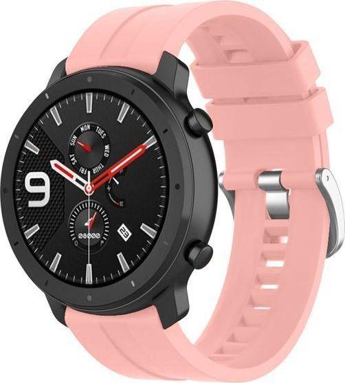 Alogy Pasek Soft Galaxy Watch Active 2 Różowy (20mm)  1