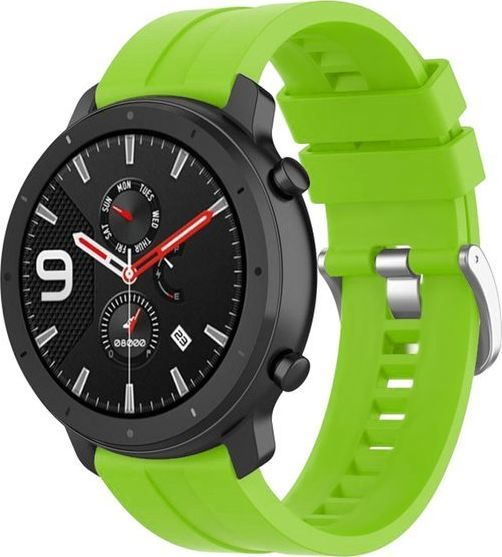 Alogy Pasek Soft Galaxy Watch Active 2 Zielony (20mm) 1