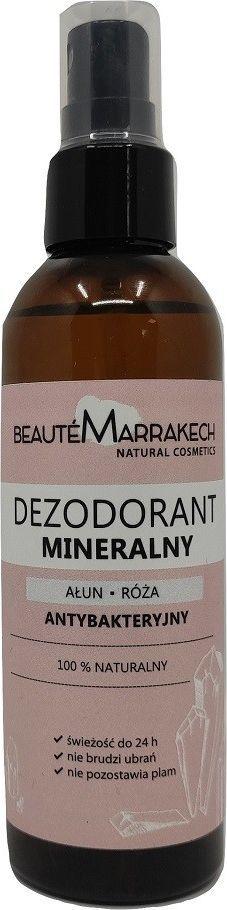 Beaute Marrakech Naturalny Mineralny Dezodorant Ałunowy Na Hydrolacie Różanym 100Ml Beaute Marrakech 1