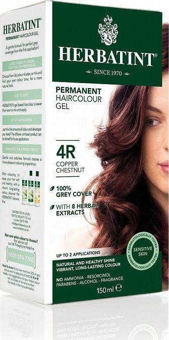 Herbatint  Trwała Farba do włosów Miedziany Kasztan 4R 1