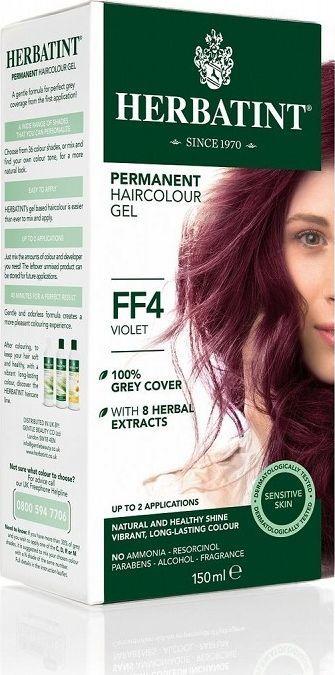Herbatint  Trwała Farba do włosów Jasny Fioletowy FF4 1