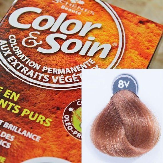 Color&Soin Trwała Farba do włosów Wenecjański Blond 8V 1