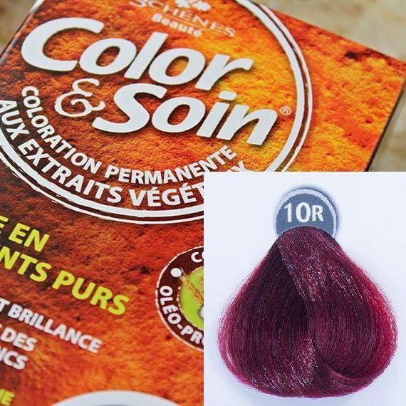 Color&Soin Trwała Farba Color & Soin Intensywny Czerwony 10R 1