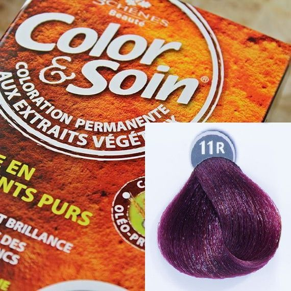 Color&Soin Trwała Farba Color & Soin Czerwono-Fioletowy 11R 1