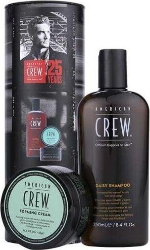 American Crew Zestaw do pielęgnacji włosów dla mężczyzn szampon, 250 ml + produkt do stylizacji, 85 g 1