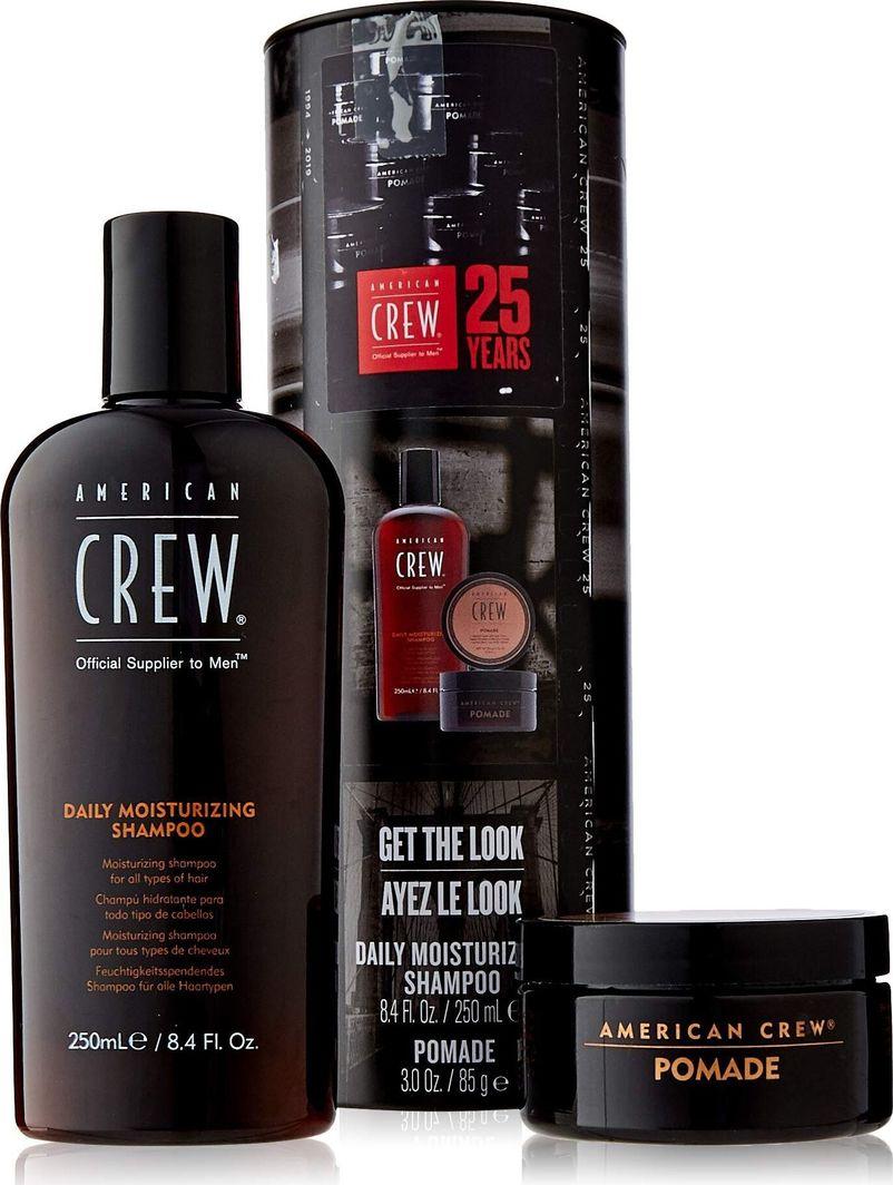 American Crew Zestaw do pielęgnacji włosów dla mężczyzn : Szampon, 250 ml + produkt do stylizacji 85 g 1