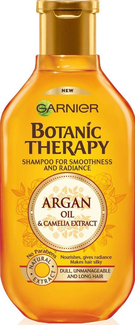Garnier Botanic Therapy Olejek Arganowy I Kamelia Szampon Do Włosów Matowych I Niezdyscyplinowanych 250ml 1
