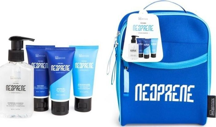 IDC Zestaw kosmetyków dla mężczyzn  Institute Neoprene Blue 4 szt 1