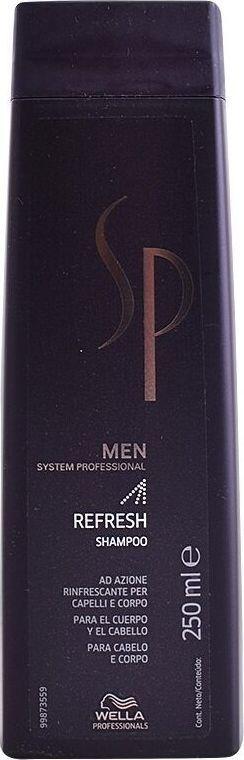 Wella  Sp Men Szampon oczyszczający Refresh System Professional 250ml 1