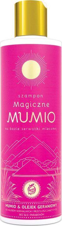 Nami Szampon Magiczne Mumio 280Ml Nami Serwatka Mleczna Mumio Shilajit Olejek Geraniowy 1