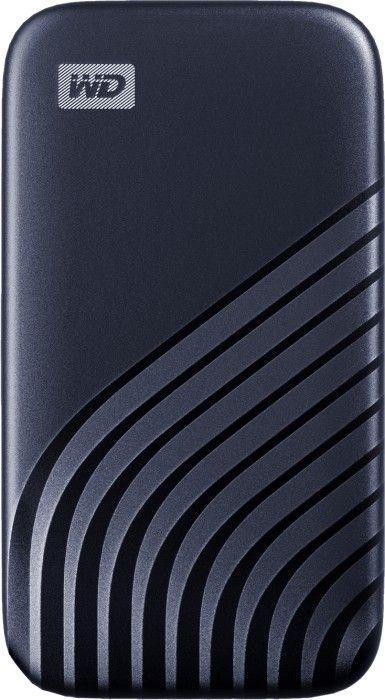 Dysk zewnętrzny Western Digital SSD My Passport 500 GB Niebieski (WDBAGF5000ABL-WESN) 1