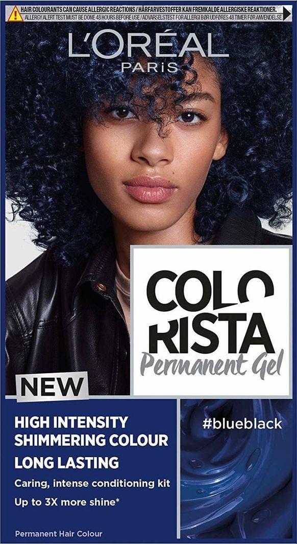 L'Oreal Professionnel Trwała Farba do włosów Colorista Blueblack  1
